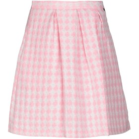 《期間限定 セール開催中》BLUGIRL FOLIES レディース ひざ丈スカート ピンク 40 コットン 70% / ポリエステル 28% / ナイロン 2%