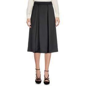 《期間限定 セール開催中》TWINSET UNDERWEAR レディース 7分丈スカート ブラック XL ポリエステル 96% / ポリウレタン 4%