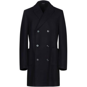 《期間限定セール開催中!》GREY DANIELE ALESSANDRINI メンズ コート ダークブルー 52 ポリエステル 57% / アクリル 38% / ウール 4% / 指定外繊維 1%