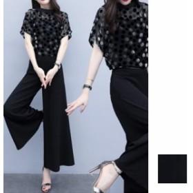 韓国 ファッション レディース パンツ セットアップ パーティードレス 結婚式 お呼ばれドレス 夏 春 パーティー ブライダル naloF528 ノ