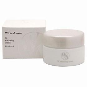 ホワイトアンサー Wホワイトニングクリーム(43g)【ジェルニック】