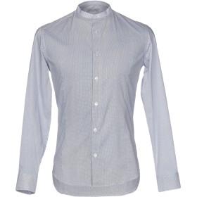 《セール開催中》DANIELE ALESSANDRINI HOMME メンズ シャツ ホワイト 39 コットン 97% / ポリウレタン 3%