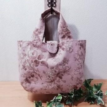 YUWA可憐な薔薇のプリント トートバッグ