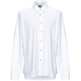 《セール開催中》XACUS メンズ シャツ ホワイト 44 コットン 100%