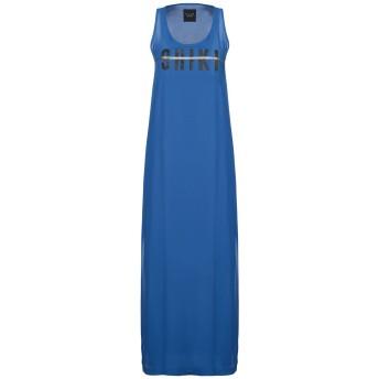 《セール開催中》SHIKI レディース ロングワンピース&ドレス ブルー XS ポリエステル 100%