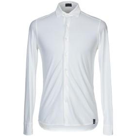 《期間限定 セール開催中》DRUMOHR メンズ シャツ アイボリー S コットン 100%