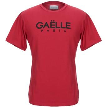 《セール開催中》GALLE Paris メンズ T シャツ レッド 1 コットン 100%