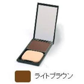 ヘアカラーファンデーション ケース付・ライトブラウン(12g)【グリーンノート】