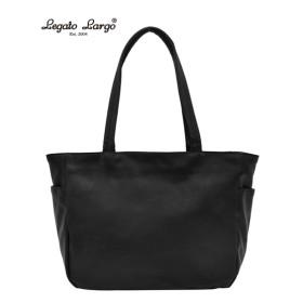 Legato Largo(レガートラルゴ)フェイクレザー10ポケットトートバッグ(A4対応) トートバッグ・手提げバッグ