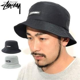ステューシー バケット ハット STUSSY Nylon Rubber Patch Bucket Hat 帽子(stussyhat メンズ・男性用 132927 USAモデル 正規)