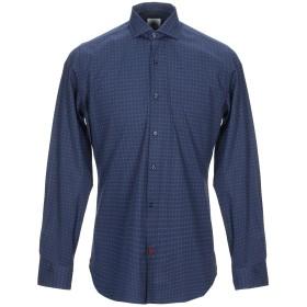 《期間限定セール開催中!》AT.P.CO メンズ シャツ ブルー 39 コットン 100%