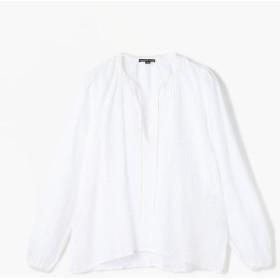 トゥモローランド ライトリネン プルオーバーシャツ WLSL3311 レディース 11ホワイト 0(S) 【TOMORROWLAND】