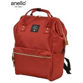anello アネロ 大きめ11ポケット口金リュック A4対応