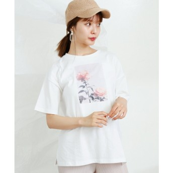 [マルイ]【セール】フォトプリント転写Tシャツ/レイカズン(RAY CASSIN)
