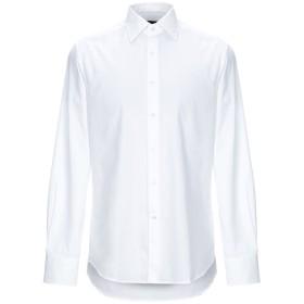 《期間限定 セール開催中》FABIO INGHIRAMI メンズ シャツ ホワイト 38 コットン 100%