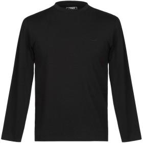 《期間限定 セール開催中》REY POLO メンズ T シャツ ブラック M コットン 92% / ポリウレタン 8%