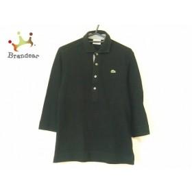 ラコステ Lacoste 七分袖ポロシャツ サイズ3 L メンズ 黒   スペシャル特価 20190926
