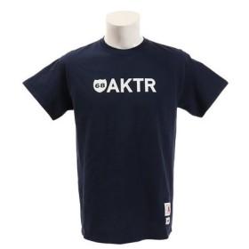 アクター(AKTR) 68 LOGO 半袖Tシャツ 119-076005 NV (Men's)