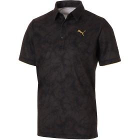 【プーマ公式通販】 プーマ ゴルフ ストーン カモ SS ポロシャツ 半袖 メンズ Puma Black |PUMA.com