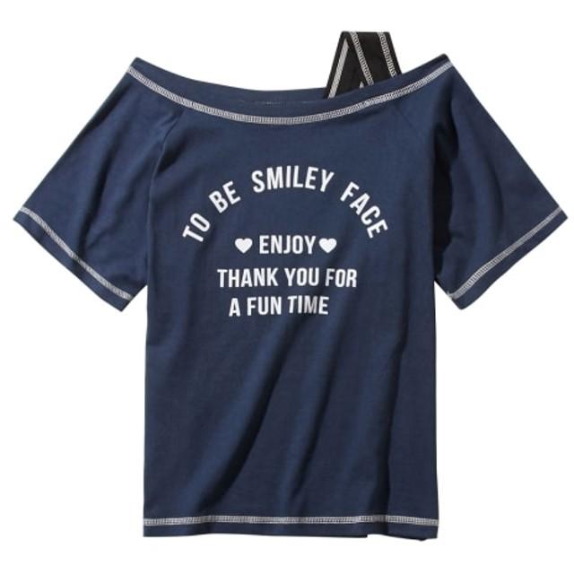 ワンショルダーTシャツ(女の子 子供服。ジュニア服) Tシャツ・カットソー