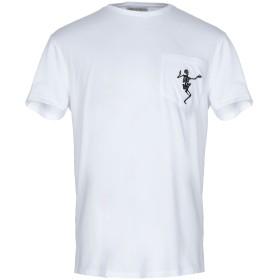 《期間限定 セール開催中》ALEXANDER MCQUEEN メンズ T シャツ ホワイト S コットン 100% / ポリエステル