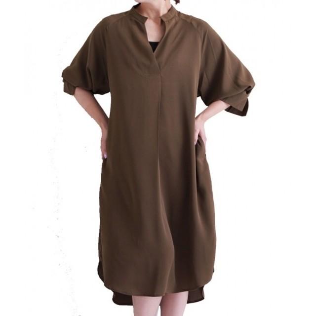 [マルイ] リボン ベルト 付 の 上品 シャツ ワンピース レディース/サワアラモード(sawa a la mode)
