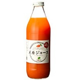 有機生活の人参ジュース(りんご果汁入り)(1000ml)【イー・有機生活】