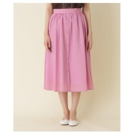 Couture Brooch(クチュールブローチ)【WEB限定サイズ(S・LL)あり】フロントボタンミディ丈スカート