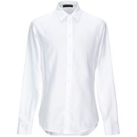 《期間限定セール開催中!》EMPORIO ARMANI メンズ シャツ ライトグレー 39 コットン 100%