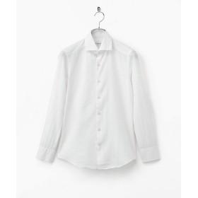 【SALE(伊勢丹)】<ギラルデッリ/GHIRARDELLI> リネンサッカーシャツ 01ホワイト 【三越・伊勢丹/公式】