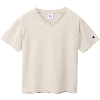 ウィメンズ VネックTシャツ 19FW チャンピオン(CW-M323)【5400円以上購入で送料無料】