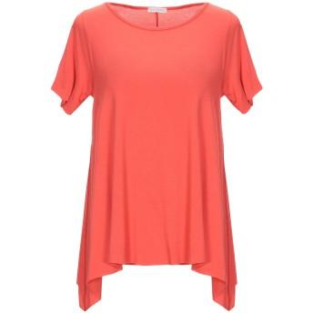 《期間限定 セール開催中》BLUKEY レディース T シャツ オレンジ L レーヨン 95% / ポリウレタン 5%