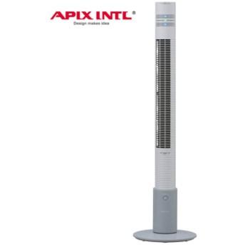 APIX アピックス ハイタワーファン(リモコン付き) 人感センサー搭載 アロマオイル付属 ホワイト AFT-930R-WH