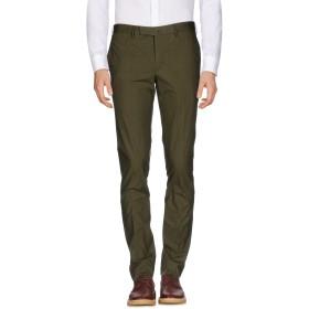 《期間限定 セール開催中》INCOTEX メンズ パンツ ミリタリーグリーン 46 コットン 96% / ポリウレタン 4%