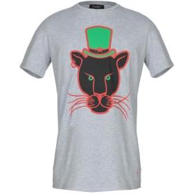 《期間限定セール開催中!》LUCABEE メンズ T シャツ グレー M コットン 94% / ポリウレタン 6%