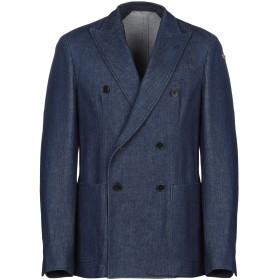 《期間限定セール開催中!》CC COLLECTION CORNELIANI メンズ テーラードジャケット ブルー 50 コットン 98% / ポリウレタン 2%