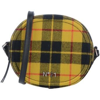 《期間限定セール開催中!》N°21 レディース メッセンジャーバッグ オークル 革 / 紡績繊維