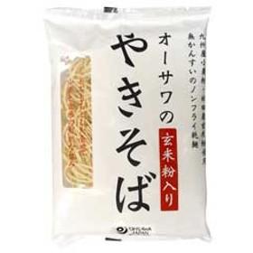 オーサワのやきそば(玄米粉入り)乾麺(160g)【オーサワジャパン】