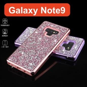 Galaxy Note9 SC-01L SCV40 スマホケース ギャラクシー note9 ケース キラキラ デコ ケース カバー
