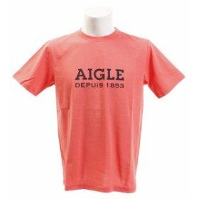 AIGLE DFT AIGLEロゴ半袖Tシャツ ZTH003C-115 (Men's)