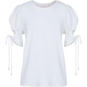 《期間限定セール開催中!》SEE BY CHLO レディース T シャツ ホワイト L ポリエステル 95% / ポリウレタン 5%