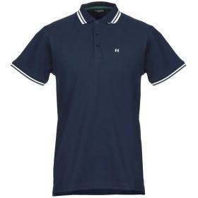 《期間限定 セール開催中》TOM HARRISON London メンズ ポロシャツ ブルー L コットン 100%