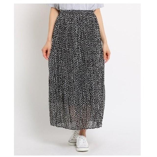 Dessin(Ladies)(デッサン(レディース))【洗える】ダルメシアンドット スカート
