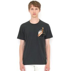 【グラニフ:トップス】Tシャツ/エンブロイダリーショートスリーブティーD(チューチューアニマルズ)