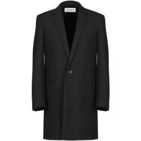 《期間限定 セール開催中》SAINT LAURENT メンズ コート ブラック 48 バージンウール 80% / ナイロン 15% / ポリエステル 5%