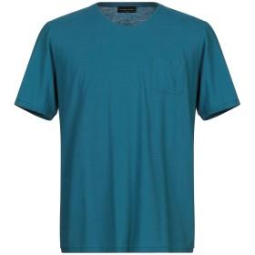 《期間限定 セール開催中》ROBERTO COLLINA メンズ T シャツ ディープジェード 46 コットン 100%