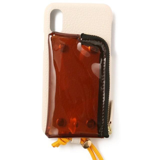 ロイヤルフラッシュ A SCENE/エーシーン/クリアポケット付きCASE iPhone X/XS レディース WHITE 00 【RoyalFlash】