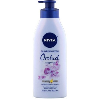 Oil Infused Lotion, Orchid & Argan Oil, 16.9 fl oz (500 ml)