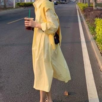 プリーツレイヤードデザインシャツ シャツワンピース シャツスカート