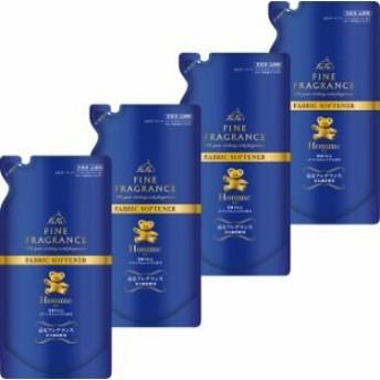 ファーファ ファインフレグランス 濃縮柔軟剤 オム 香水調クリスタルムスクの香り 詰替用 500ml (4個)